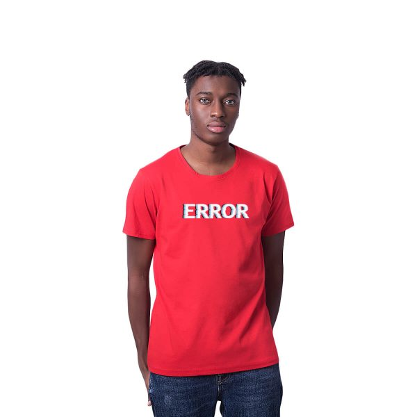 Error Baskılı Regular Unisex Tişört