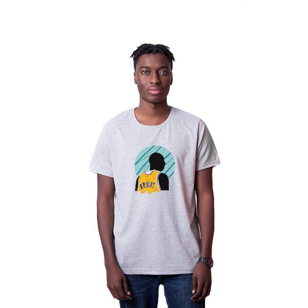 Kobe Bryant Baskılı Regular Unisex Tişört