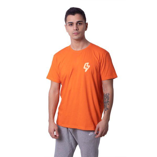 Şimşek Baskılı Regular Unisex Tişört
