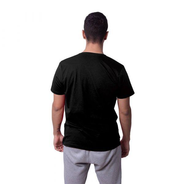 Siyah Düz Renk Basic Regular Unisex Tişört