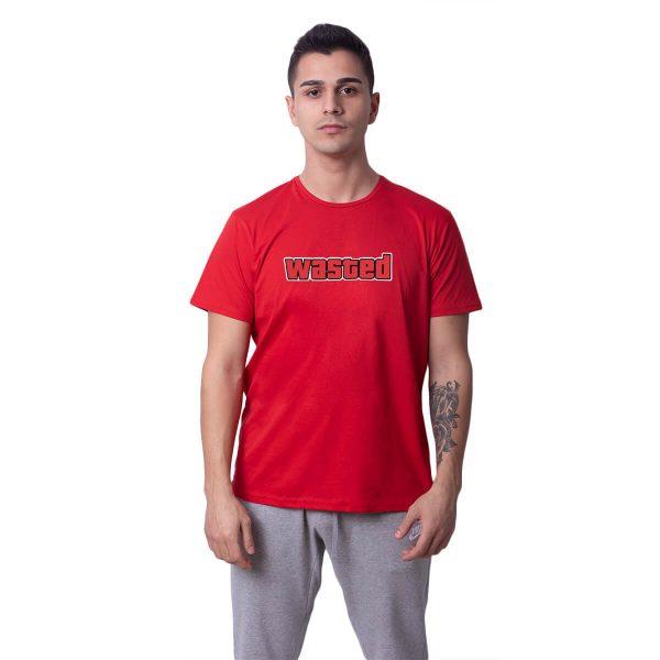 Wasted Baskılı Regular Unisex Tişört