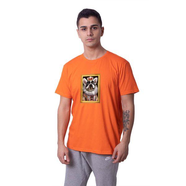 Kraliyet Fransız Bulldogu Regular Unisex Tişört