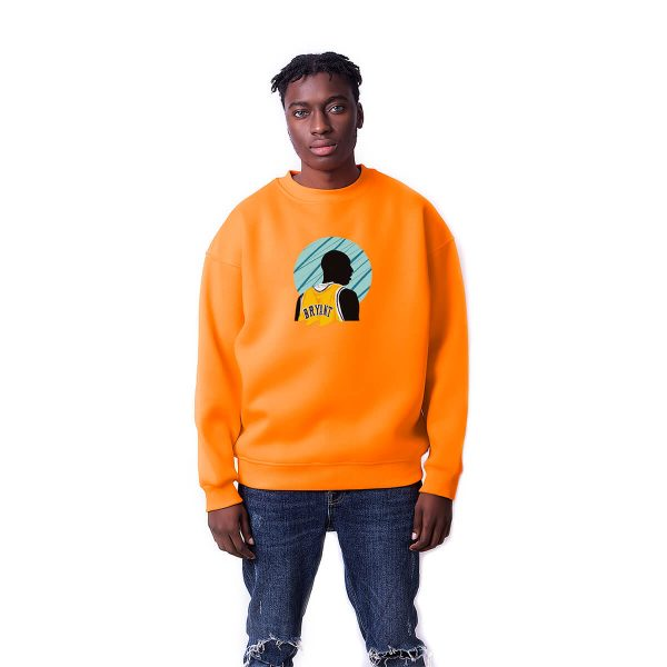 Kobe Bryant Baskılı Oversize Unisex Sweatshirt