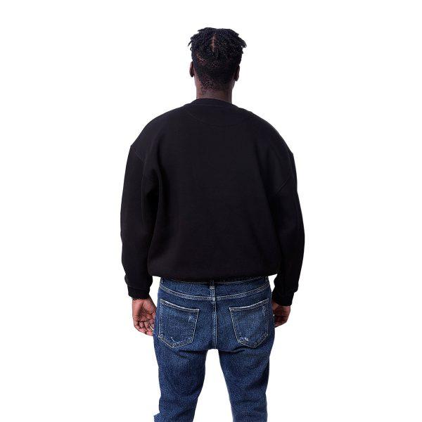 Siyah Renk Oversize Unisex Sweatshirt