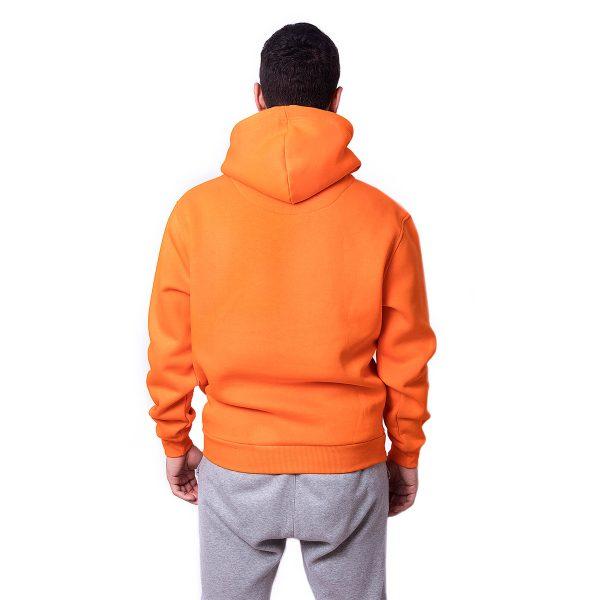 Turuncu Renk Oversize Unisex Hoodie
