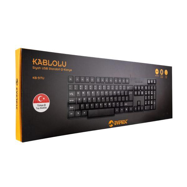 Everest KB-517U USB Q Standart Klavye