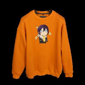 Göksel Kırca Yato Cute Baskılı Oversize Unisex Sweatshirt