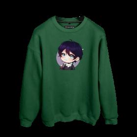 Göksel Kırca Yato Sword Baskılı Oversize Unisex Sweatshirt