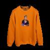 Halil Örenler Meta Baskılı Oversize Unisex Sweatshirt