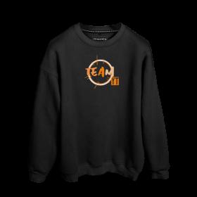 Muhammet YT Team Relaks Baskılı Oversize Unisex Sweatshirt