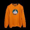 Akın Güngör Portre Baskılı Oversize Unisex Sweatshirt