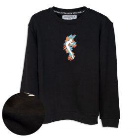 Balerin Baskılı Çocuk Sweatshirt