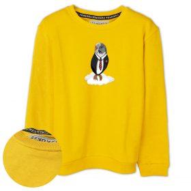 Bulut Kuşu Baskılı Çocuk Sweatshirt