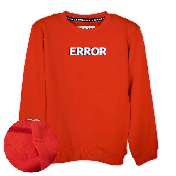 Error Baskılı Çocuk Sweatshirt