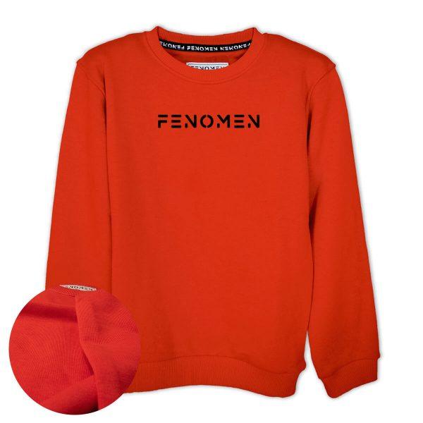 Fenomen Baskılı Çocuk Sweatshirt