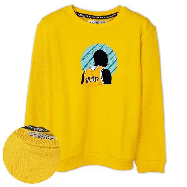 Kobe Bryant Baskılı Çocuk Sweatshirt