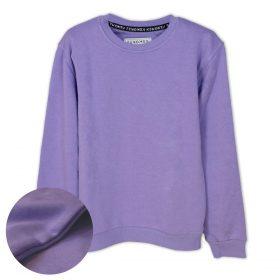 Lila Düz Renk Çocuk Sweatshirt