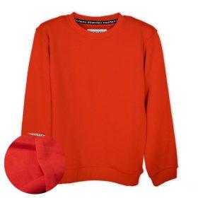 Turuncu Düz Renk Çocuk Sweatshirt