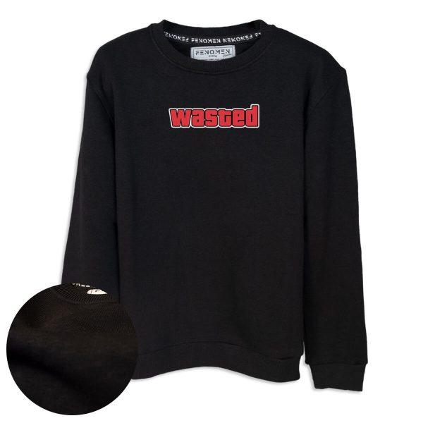 Wasted Baskılı Çocuk Sweatshirt