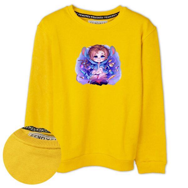 Erenay Bey Büyü Masası Baskılı Çocuk Sweatshirt