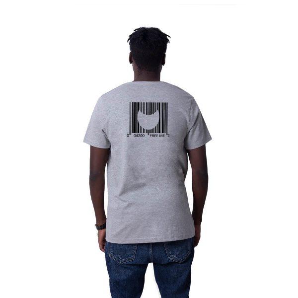 Porçay - Free Me Baskılı Regular Unisex Tişört