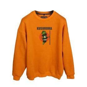 Efkan Efendi Kusuruma Bamya Baskılı Oversize Unisex Sweatshirt