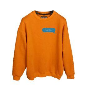 Efkan Efendi Selam Çet Baskılı Oversize Unisex Sweatshirt