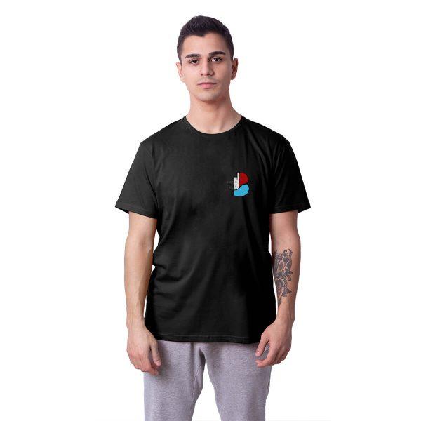 Batan Gemi TV Küçük Logo Baskılı Regular Unisex Tişört