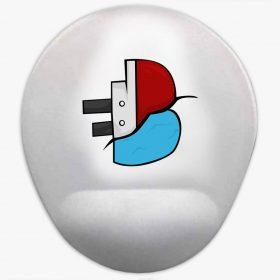 Batan Gemi TV Logo Baskılı Bilek Destekli Mouse Pad