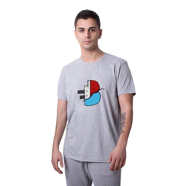 Batan Gemi TV Logo Baskılı Regular Unisex Tişört