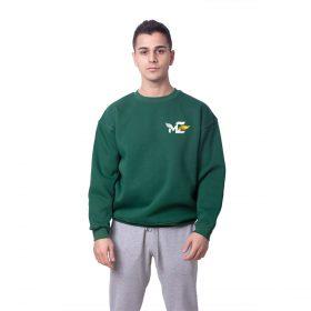 Melih Zeyrek MZ Baskılı Oversize Unisex Sweatshirt