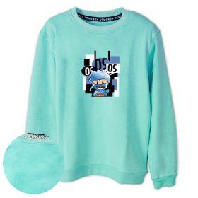 OS Ekibi Faruk OS Baskılı Çocuk Sweatshirt
