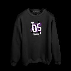 OS Ekibi Gaming Baskılı Oversize Unisex Sweatshirt