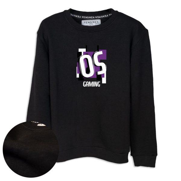 OS Ekibi OS Gaming Baskılı Çocuk Sweatshirt