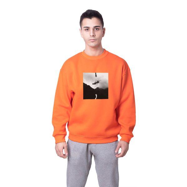 Yiğit Alp Çavdar Kâbus Baskılı Oversize Unisex Sweatshirt
