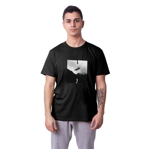 Yiğit Alp Çavdar Kâbus Baskılı Regular Unisex Tişört