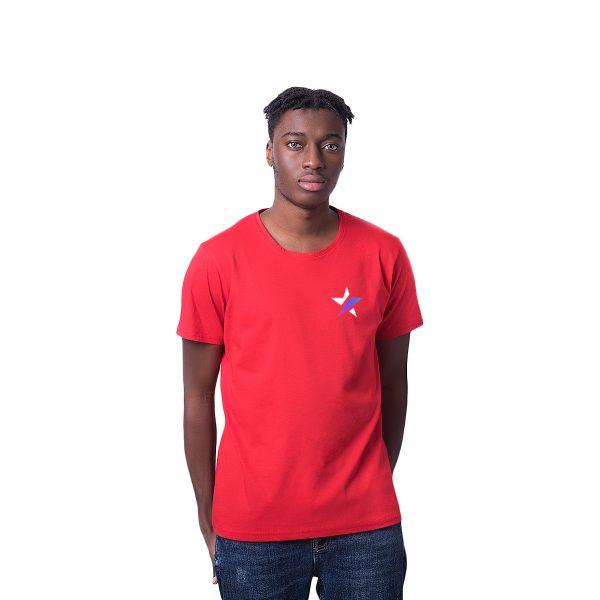 Fenomen Yıldızı Baskılı Regular Unisex Tişört