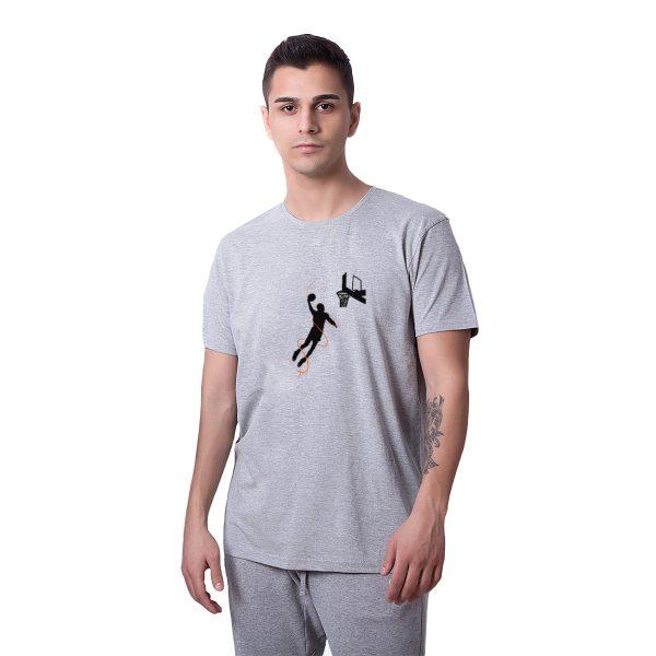 Kobe Bryant Smaç Baskılı Regular Unisex Tişört