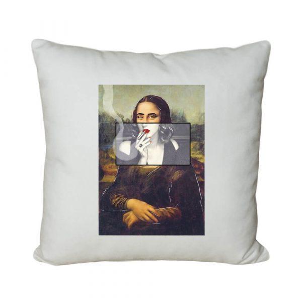 Mona Monroe El Yapımı Boncuk Silikon Dolgulu Kırlent Yastık