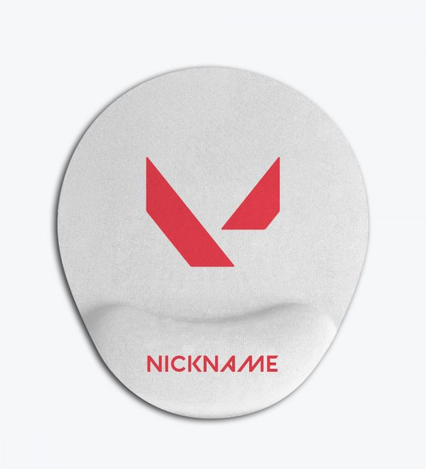 Valorant Nickname Baskılı Kişiye Özel Bilek Destekli Mouse Pad